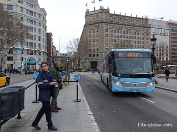 How to get from Barcelona Airport to the center (from the center of Barcelona to the airport)