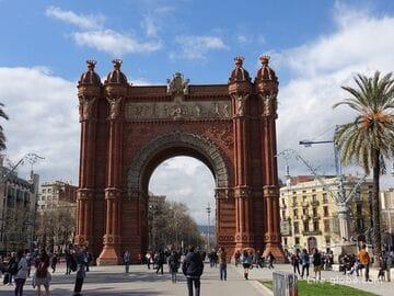 Триумфальная арка в Барселоне (Arc de Triomf)