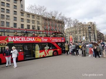 Туристические автобусы в Барселоне: Бас Туристик и Сити Тур