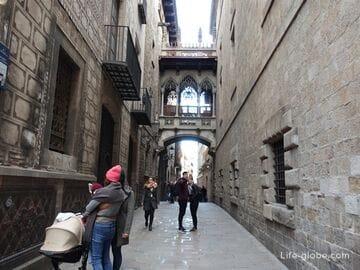 Готический квартал Барселоны (Barri Gotic)