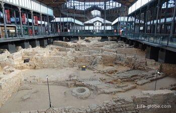 Рынок Борн, Барселона (археологические раскопки в культурном центре Эль Борн)