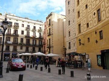 Подрайон Сан-Пере, Санта-Катерина и Ла-Рибера, Барселона (Sant Pere, Santa Caterina i la Ribera)