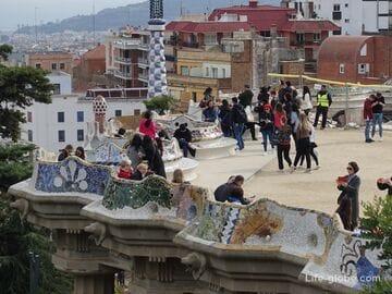 Парк Гуэль в Барселоне (Park Guell)