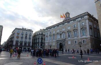 Площадь Сан Жауме, Барселона (Святого Иакова / Placa de Sant Jaume)
