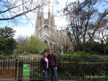 Саграда Фамилия (Храм Святого Семейства) в Барселоне