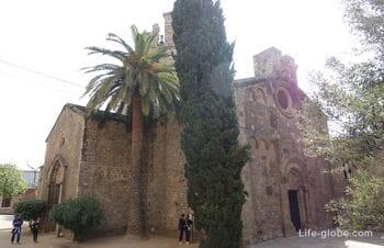 Монастырь Сант-Пау-дель-Камп в Барселоне (Antic monestir de Sant Pau del Camp)