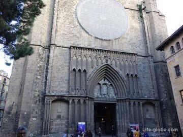 Церковь Санта-Мария-дель-Пи, Барселона (Святой Марии / Basilica de Santa Maria del Pi)