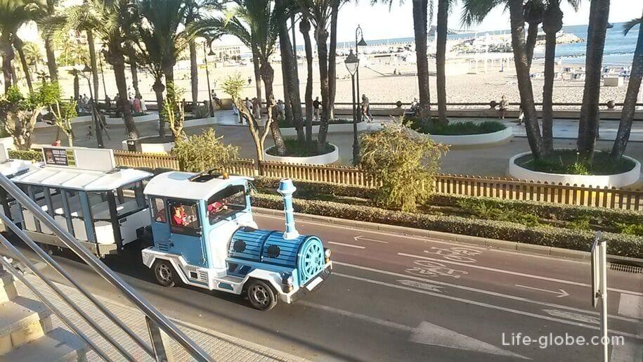 Прогулочный паровозик, Бенидорм