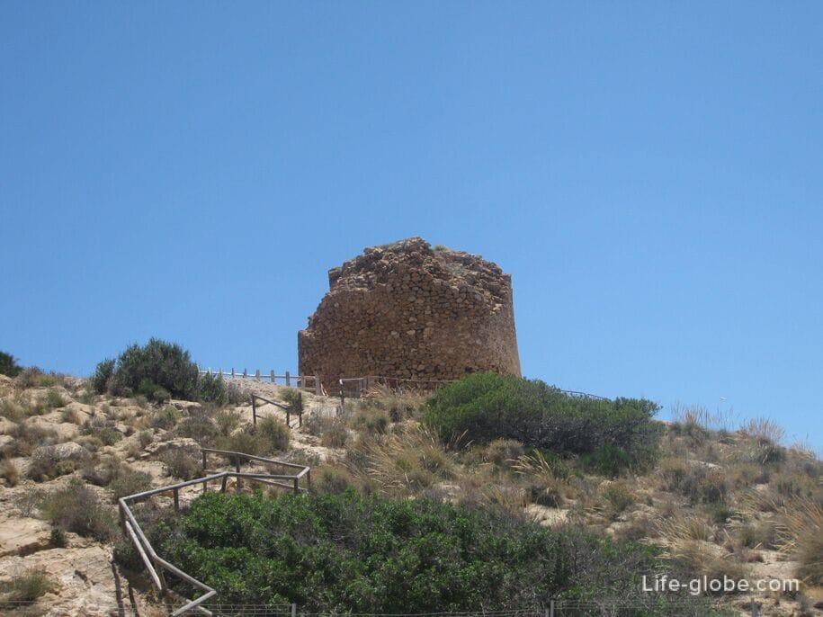 Старая Башня в парке Серра Хелада, Бенидорм