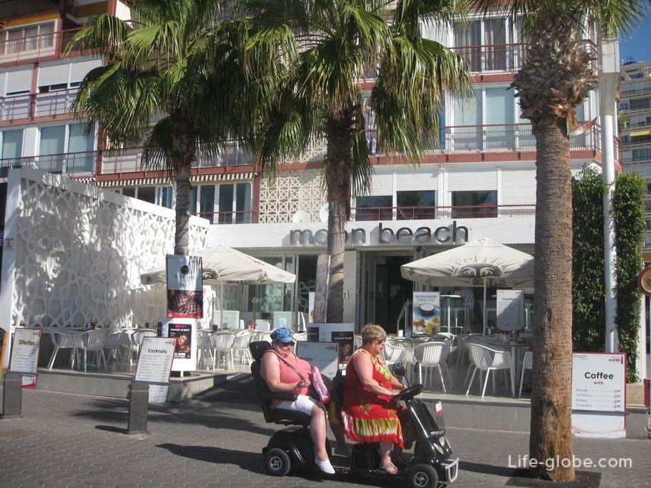 Кафе пляжа Леванте, Бенидорм