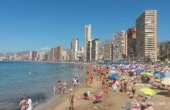 The Beaches Of Benidorm, Spain. Browse all beaches in Benidorm