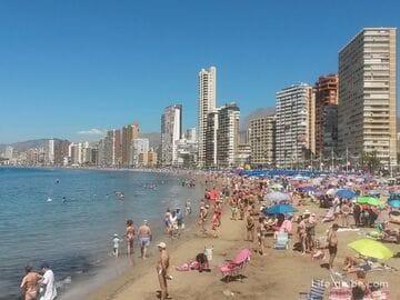 Пляжи Бенидорма, Испания. Обзор всех пляжей в Бенидорме