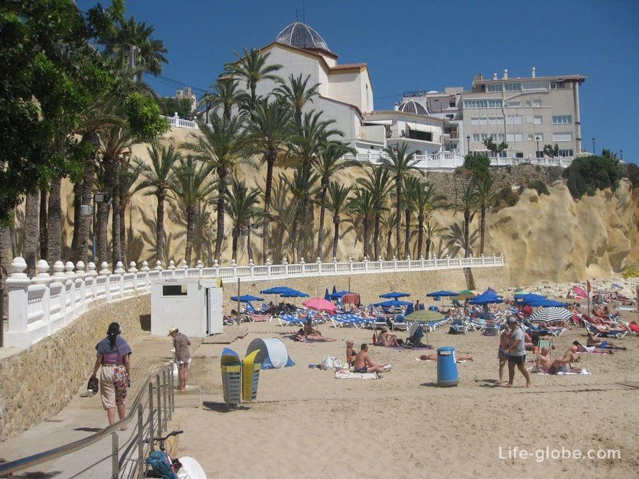 Playa de Mal Pas, Бенидорм, Испания