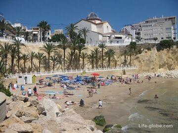 Пляж Маль Пас (Playa de Mal Pas) - самый красивый пляж Бенидорма
