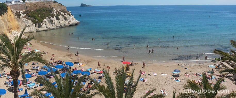 Пляжи Бенидорма - пляж Mal Pas