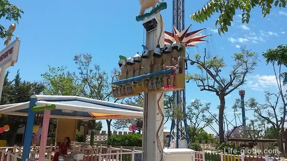 Башня свободного падения для детей, Терра Митика
