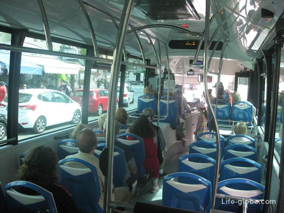 Салон автобуса Терра Митика - Бенидорм