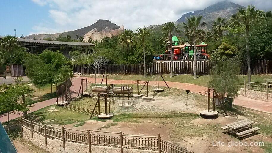 Развлечения в парке Терра Натура, Бенидорм