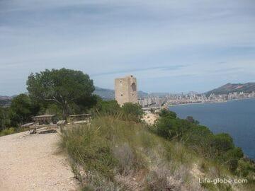 Башня Торре-дель-Агуило (Torre del Aguilo) и шикарные панорамные виды в Вильяхойосе