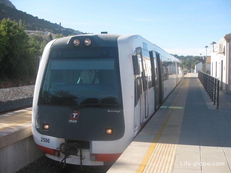 Трамвай Бенидорм-Кальп