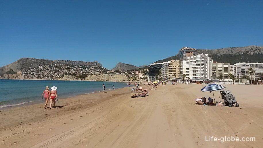 Плая Дель Ареналь-Бол, Кальпе, Испания