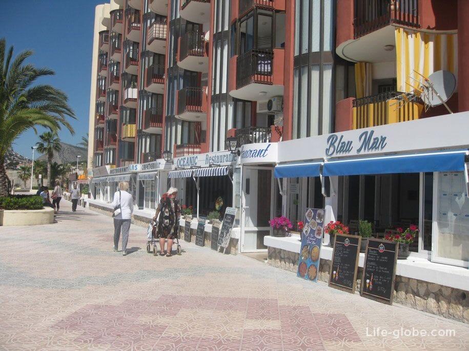 Набережная Кальпе, Испания