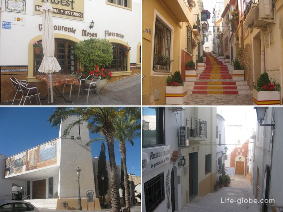 Старый город Кальпе, Испания