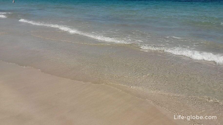 Морская вода, пляж Ла Фосса, Кальпе, Испания