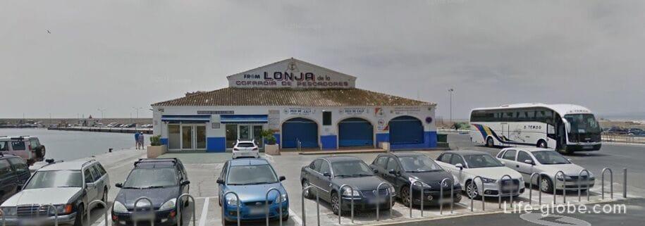 Достопримечательности Кальпе - рыбный аукцион