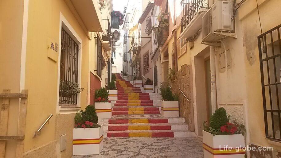 Достопримечательности Кальпе - старый город