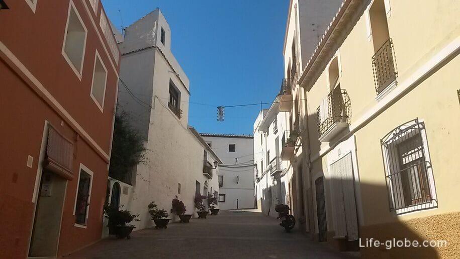 Старый город в Кальпе