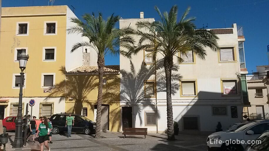 Старый город в Кальпе, Испания