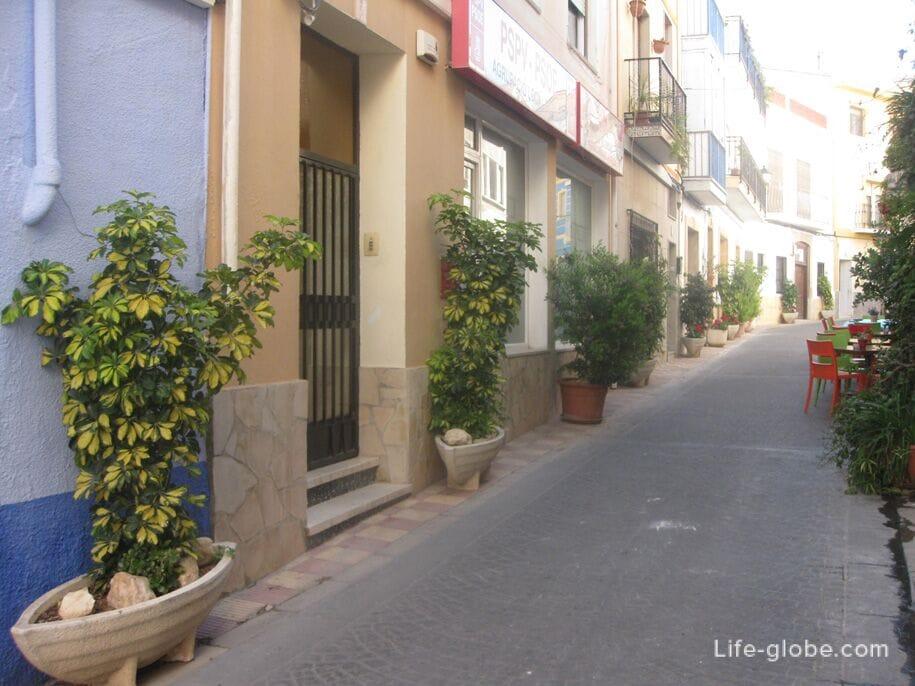 Улочки старого города Кальпе