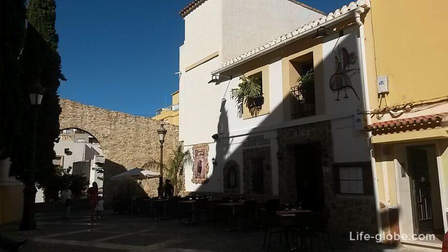 Мавританский квартал в Кальпе, Испания
