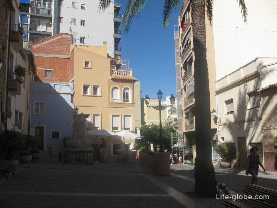 Мавританский квартал, Кальп