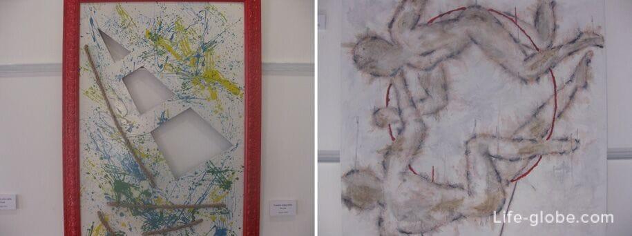 Выставка в museu dart, Кальп