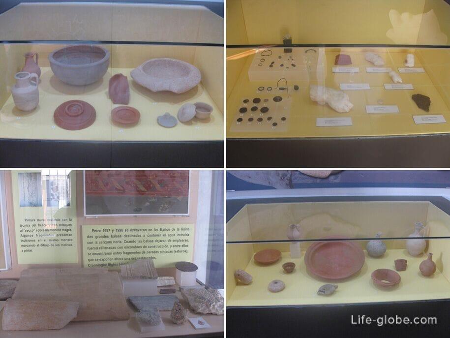 Выставка в музее археологии в Кальпе