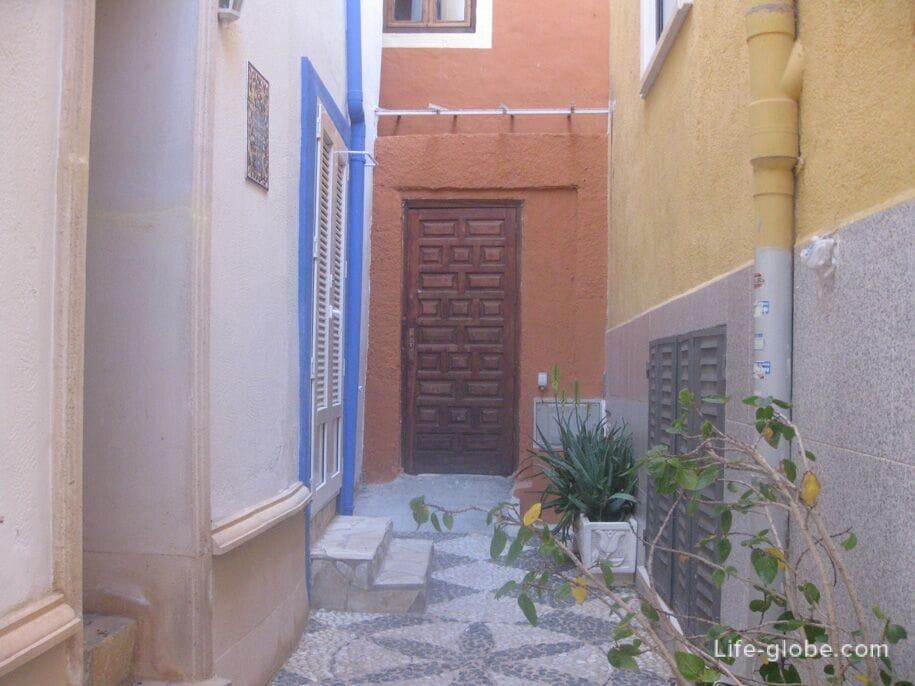 Кальпе, старый город