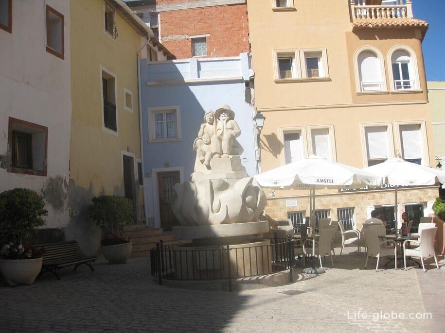 Кальпе, старый город, Испания