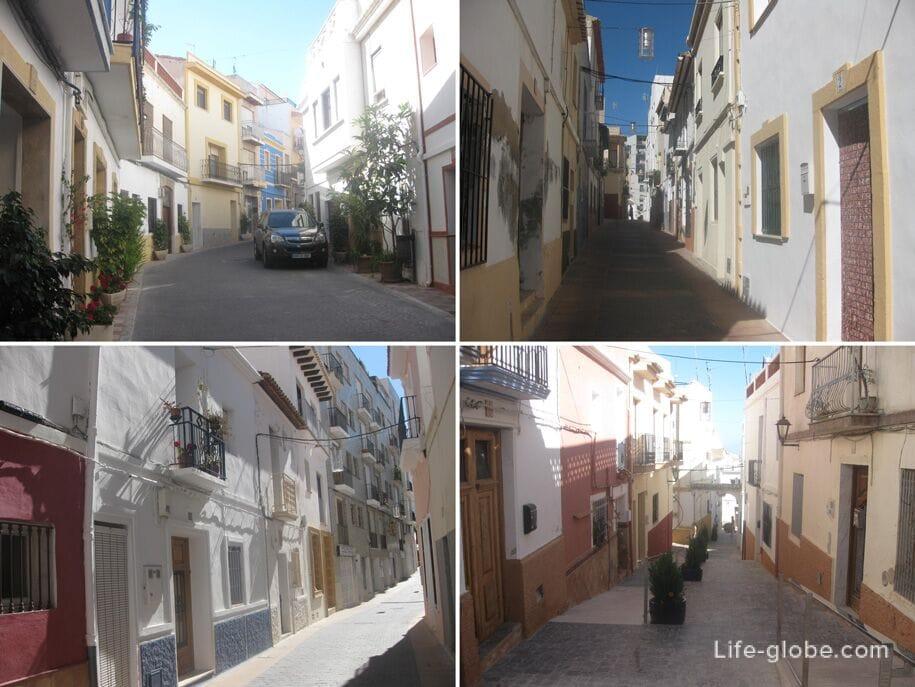 Улочки старого Кальпе, Испания