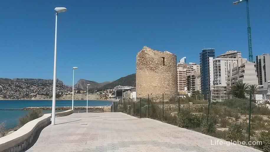 Башня-мельница Морелло, Torre Moli del Morello