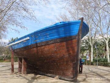 Парк Рыбака в Камбрильсе (дель Пескадор) - самый старый парк курорта