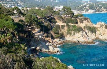 Дозорная тропа в Льорет-де-Мар: пляж Льорет - пляж Феналс (и до Бланеса)