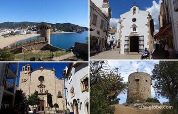 Достопримечательности Тосса-де-Мар, Испания