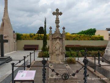 Модернистское кладбище в Льорет-де-Мар (Cementiri Modernista)