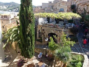Крепость Тосса-де-Мар (старый город / Vila Vella)