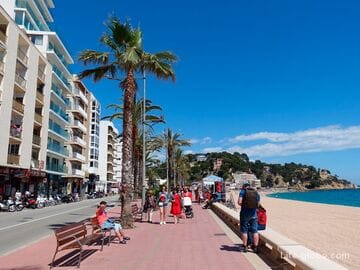 Lloret de Mar promenade - a place for walking and recreation