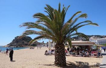 Пляжи Тосса-де-Мар. Побережье Тосса-де-Мар