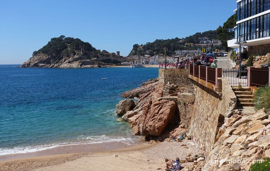 Menuda Beach Tossa De Mar Playa De La Mar Menuda The Second Most Popular In Tosse