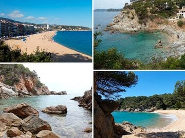 Beaches Lloret de Mar. Lloret de Mar coast